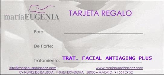 Tarjeta Regalo / Trat.4 - TRATAMIENTO ANTIAGING PLUS - 90 min.